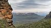 Blue Mountains (Eddy Summers) Tags: bluemountains leura leuracascades cliff cliffface rocks landscape vibrant clarity valley mountains topaz