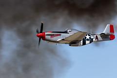 """P-51 """"Man O' War"""" (Trent Bell) Tags: lancaster foxairfield airport losangelescounty airshow 2018 california aircraft p51 p51mustang manowar warbird"""