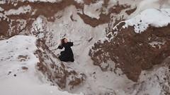 Затерянный эйдос идеального никуда {17} (dewframe) Tags: winter longwinter womanatnature cold journey mind emotive whitehills alone windy snow trouble womanwaslostin dramatic