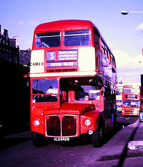Slide 115-58 (Steve Guess) Tags: brixton bus london transport buses england gb uk lambeth aec routemaster rm rm1942 ald942b route3