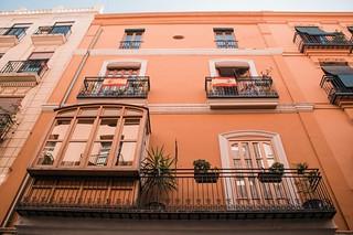 Balcones. Valencia, España. Octubre 2018.