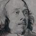VAN DYCK Antoon - Portrait de Robert van Voerst, Graveur (drawing, dessin, disegno-Louvre INV19908) - Detail 10