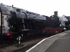 DSCF2291 (OdneyManor) Tags: wsr westsomersetrailway spring steam gala 2018 usatc s160 6046 baldwin br 78xx 7822 foxcote manor blueanchor