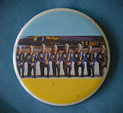 Blue Angels ~ US Navy (BKHagar *Kim*) Tags: bkhagar blueangels usnavy men uniform pin button estatesale navy military plane planes pilot pilots