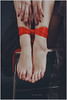 Red ribbon (Yepanchintcev Aleksey) Tags: red ribbon girl legs feet beauty toes longtoes sexy foot russian footfetish fetish lovely pretty