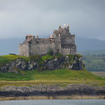 Duart Castle on the rock thumbnail