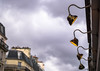 Garde. (Canad Adry) Tags: paris carl zeiss cy planar t 50mm f14 sony alpha a6000 vintage old classic manual lens lampe light sky line lamp street streetlight city ville urban perspective