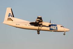 SE-KTC Fokker F50 Amapola Flyg (Andreas Eriksson - VstPic) Tags: sektc fokker f50 amapola flyg amapola162 from visby