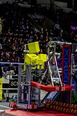 IMG_7914 (holytrinityrobotics) Tags: oakville omgrobots light event coverage robot robotics hersheyscentre gold mechanical electrical pneumatics onchampsfrc first firstcanada frc ontario tronic titans