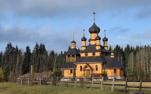 Wooden church (Деревяная церковь)