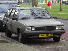 1984 Volkswagen Passat Variant (harry_nl) Tags: netherlands nederland 2018 utrecht volkswagen passat variant 96hhb3 sidecode7 bundeswehr