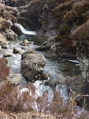 Fairy Pools in Glen Brittle heading east along the stream through Coire na Creiche, Skye (Alta alatis patent) Tags: fairypools skye landscape scotland brittle river waterfall