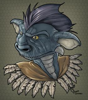 Lizard - Original Character by Franjogutierrez