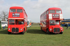 VLT 9 (RM 9) and VLT 8 (RM 8) - AEC Routemaster - London Transport (Ray's Photo Collection) Tags: londontransport routemaster detling rm 9 8 aec vlt8 vlt9 transport show countyshowground maidstone kent england uk bus buses coach coaches rally southeast lt