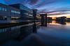 DSC02977 (Photos_Math) Tags: bâtiment reflet lac eau heurebleue hérouville citis