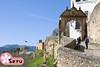 Ronda (Seruru) Tags: españa spain andalucia ronda puerta iglesia door church medieval blue sky cielo azul arquitectura architecture スペイン アンダルシア ロンダ 門 青 空 建築
