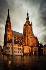 圣维特主教座堂 (BestCityscape) Tags: 布拉格 捷克共和国 建筑 旅行 prague czech republic architecture europe travel square castle 教堂 cathedral