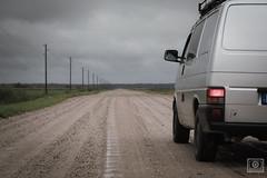endless gravel paths (UE-Photography - urban exploration & travel) Tags: baltikum latvia lettland livland roadtrip adventure ecotourism endless exploring travel bezirkcarnikava t4 bulli syncro vw