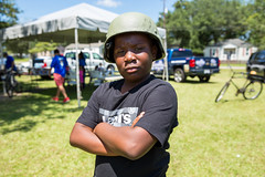 NCPD holds community cookout (North Charleston) Tags: northcharleston southcarolina unitedstates kid child swat gear tactical helmet flak