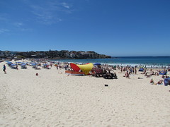 Surf Rescue at Bondi Beach -- Bondi Beach, NSW, Australia, January 21, 2018 (baseballoogie) Tags: 012118 baseball18 canonpowershotsx30is bondibeach nsw newsouthwales australia beach
