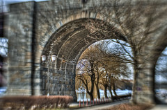 Under the bridge (Matjaž Skrinar) Tags: lensbabyscout sweet35optic maribor 100v10f 250v10f