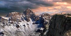 La montagna che non chiede mai (art & mountains) Tags: alpi alps dolomiti dolomiten marmolada calcare roccia dolomia cime creste crode punte hiking natura silenzio contemplazione cielo spazio respiro vision dream spirit art