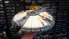 Freighter WIP (Railblade) Tags: lego spaceship star wars freighter moc
