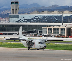 Ejército del Aire CASA C-212 Aviocar T12B-67/72-12 at Malaga AFB/LEMG for DAPEX-18 (Mosh70) Tags: malagacostadelsolairport lemg ejércitodelaire ef18mhornet casac101ebaviojet casac101aviojet casac212 mcdonnelldouglas ala12 ala15 741escuadron dapex18