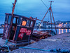 Boat Wreck in Galway Bay, Western Ireland (Joe Malone M4/3) Tags: galwaybay shipwreck