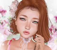 LAQ ~ Emmy | Skin Fair 2018 (Gabriella Marshdevil ~ Trying to catch up!) Tags: sl secondlife cute doll kawaii laq monso meshhead bento