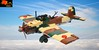 Ki-32 (Eínon) Tags: lego ww2 world war two military japan empire japanese pacific battle kawasaki army cooperation plane aircraft bomber light