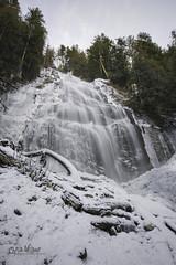 Bridal Falls (wilbias) Tags: bridal falls waterfall cascade chilliwack bc british columbia canada winter snow long exposure water