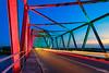 Rainbow Bridge (leslie hui) Tags: bintan lighttrails bluehour indo sonya7rii sonyalpha indonesia bridge sunset