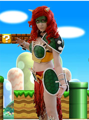 Female Bowser (mouseart005) Tags: supermariobros nintendo video games videogames kingkoopa nowser mario luigi princess nes redhead cosplay girl spikes turtle comiccon costume anime comicon torontocomicon2018 toronto ontario canada portrait people female