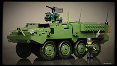 COBI Stryker M1126 ICV (Kobikowski) Tags: cobi lego infantry carrier vehicle american amerykański usa lav