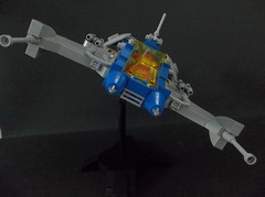 Auriga-class Heavy Fighter (SaurianSpacer) Tags: lego moc neoclassicspace spaceship spacefighter space