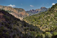 Lost Mine Peak Beyond the Hillsides and Mountainsides (Big Bend National Park)
