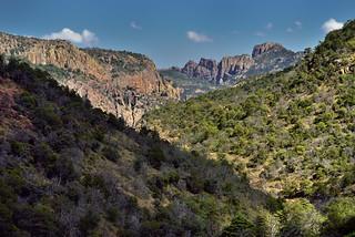 Lost Mine Peak Beyond the Hillsides and Mountainsides (Big Bend National Park)