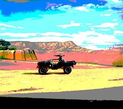 Hot Wheels HW SCREEN TIME HALO Oni Warthog 2018 : Diorama PS2 GT4 Computer Game Backdrop Grand Canyon - 5 Of 20 (Kelvin64) Tags: hot wheels hw screen time halo oni warthog 2018 diorama ps2 gt4 computer game backdrop grand canyon
