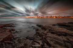 East to West (Luis Sousa Lobo) Tags: img0209 montevideo uruguai skyline water mar de la plata longexposure canon 70d 1018 lee little stopper