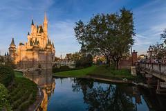 Golden Castle (MarcStampfli) Tags: cinderellacastle disney florida magickingdom nikond3200 themeparks vacationkingdom wdw waltdisneyworld