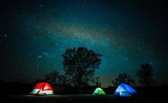 RGB (dwishard_55) Tags: rgb blue green red milkyway glow night stars camp camping tent