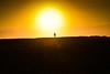 Lone sunset stroll (Winniepix) Tags: windsurf jericoacoara beach sunset brasil sun water walking sport shillouette winniepix brazil orange sea