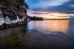 Oakledge Park Sunset w/Haida filter (Dino Sokocevic) Tags: filter nd10 haida tamron tamronusa nikon d610 vt vermont sunset landscape longexposure nature spring blue newengland fullframe