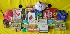 « So Guud !! © With that we are ready! » (Damien Saint-é) Tags: danbo japanfood kitkat yotsuba pocky candy candies kitgracie umaibo goodsmilecompany hatsunemiku