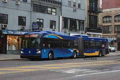 New Flyer XD60 MTA 6055 M103 route (CarPro Bus) Tags: new flyer xd60 mta nyc livery 6055 m103 route