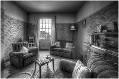 The Room That Time Forgot (Darwinsgift) Tags: living room vintage antique radio times hdr nikon d810 nikkor 14mm f28 bclm black country museum
