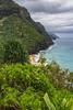 Hanakapi'ai Beach, Kaua'i (ScotiaViolet) Tags: hawaii kauai napalicoast kalalautrail beach sea cliffs coastal sonya6300 sonyilce6300