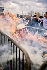 LDS_3101 (Baltimore Jewish Times) Tags: chometz chametz burning passover pesach pimlico baltimore orthodox judaism