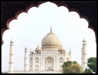 Looking through: the Taj Mahal